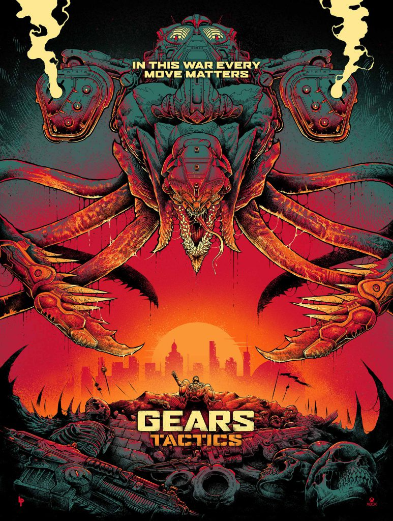 Gears Tactics Reaver Poster designed by Luke Preece